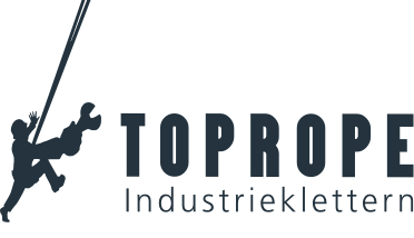 Toprope Industrieklettern